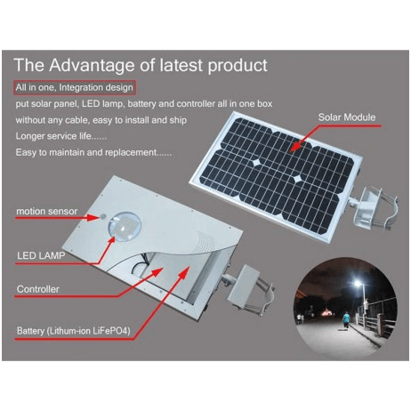 Integrated solar charge controllers