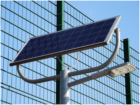 solar-powered streetlights design
